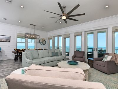 Photo for Upscale Gulf-front, community pool, elevator, garage, phenomenal views