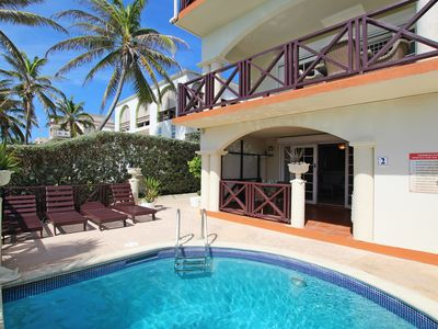 Photo for Oceanfront 2-bed Apt with Pool near Surfing - Rosalie #2