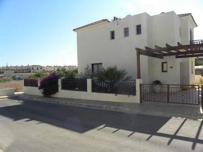 Photo for Deluxe Villa  With Private Pool, Sea Views, Internet Access in gated community.