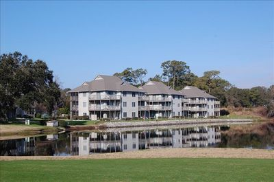 The Colony 1 Resort from the Oyster Bay GC