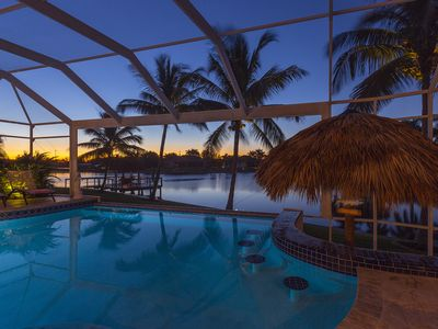 Photo for Villa with tiki hut, pool and pool table
