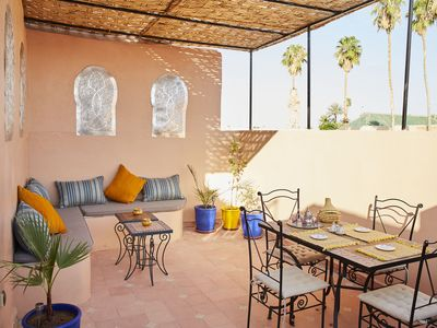 Photo for Rosa Bahia a cozy nest in the heart of Marrakech