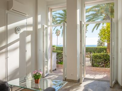 Photo for Studio Prince - Right on the beach with the best location - Destination Cannes