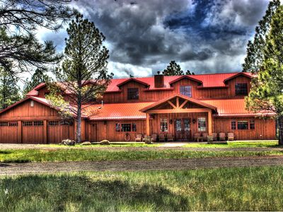 Photo for Rustic Luxurious Lodge in Arizona's White Mountains