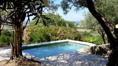 Photo for BEAUTIFUL GITE IN LOT OF VILLA TOTALLY INDEPENDENT WITH HEATED SWIMMING POOL