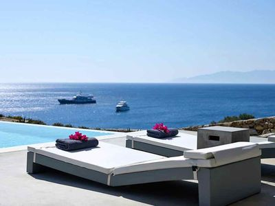 Photo for Olio Villa Mykonos 4 Bedrooms 3 Bathrooms Private Pool Up to 9 Guests A charming boutique villa