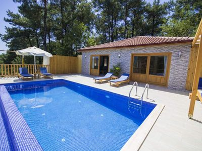 Photo for Totally Private 2 Bedroom Villa with Pool in the Peaceful Village of Islamlar