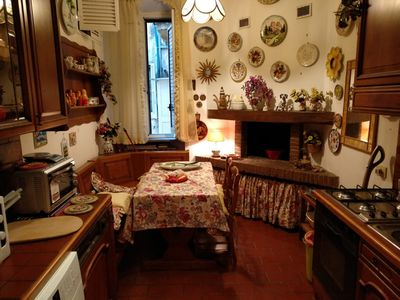 Photo for Classic Romana Flowers House, Porta Pia 2km from the heart of Rome, 1km from Stazione
