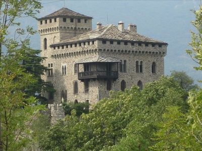 Photo for Historic Italian Castle at Foot of the Alps!