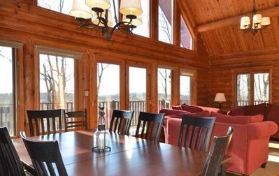 Photo for Mont Tremblant Blueberry Lake Papineau 5 Bedroom Papineau Chalet +