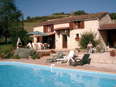 Photo for Superbly Renovated Stone Farmhouse in 2¼ Acres with Private Pool, Free Wifi