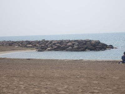 Photo for beach edge at 30 m - villa t3 with parking