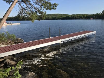 Photo for Maine Waterfront Cottage on  East Grand Lake