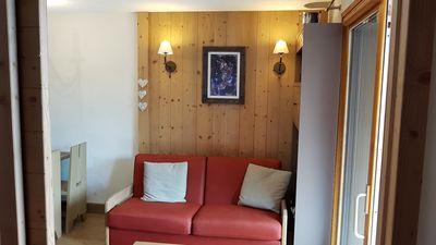 Photo for Risoul apartment T2 sleeps 4 Antares departure and return skis