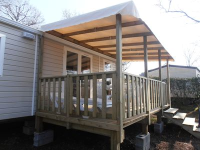 Photo for New 2 bedroom mobile home for 4 people