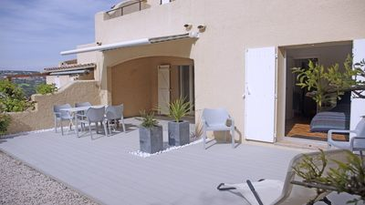 Photo for T2 apartment - 4 people - Swimming pool and tennis in the residence - Sainte Maxime