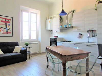 Photo for CASA AL PORTO conveninetly located 2 bedroom apartment just outside Lucca's wall