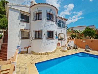 Photo for Inge-10  - sea view villa with private pool in Benissa