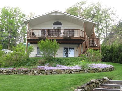 Photo for Beautiful, Quiet, Lakefront home on Private Reservoir