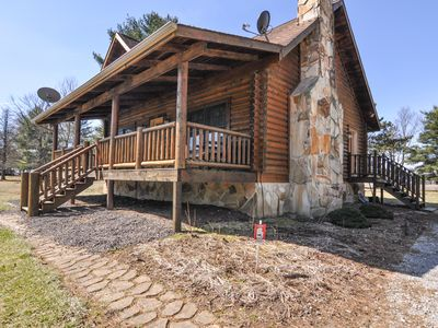 Photo for Rustic Log Cabin close to Purdue University available for weddings