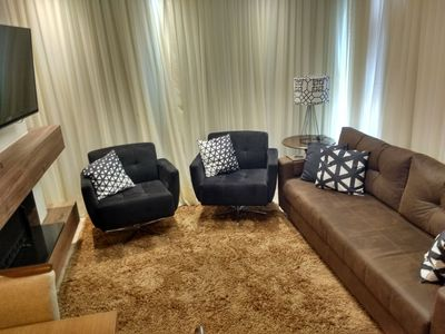Photo for Apto Gramado Center High Standard, 2 Suites, Furnished and Equipped (302D)