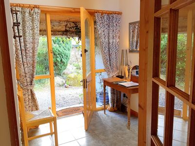 Photo for Gorgeous spacious cottage in pretty garden setting in sunny south east Ireland!
