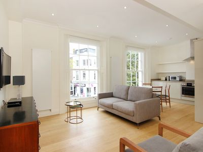 Photo for Luxury Two Bedroom Two Bathroom King's Road Garden Square Chelsea Apartment