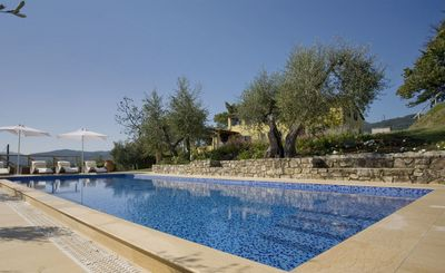 Photo for Stunning private villa with A/C, private pool, WIFI, TV, veranda, panoramic view and parking
