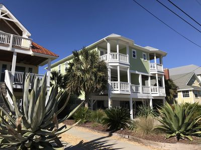 Photo for Fantastic Ocean Views - across the street from Texas Ave. public beach access.