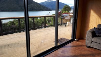 Photo for Marlborough Sounds Holiday Home Brand New Sea Views 3brm with Large Deck