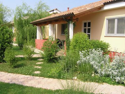 Photo for Beautiful bungalow on a small park on the outskirts of the popular town of Porec
