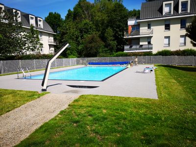 Photo for Apartment ROUEN with swimming pool parking in residence ...