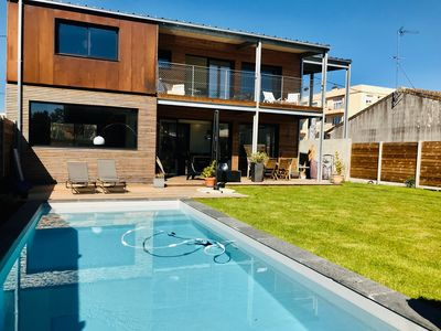 Photo for Architect house 3 bedrooms with pool.