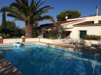 Photo for Secluded villa, private pool/garden, Air Con, WiFi, Satellite TV