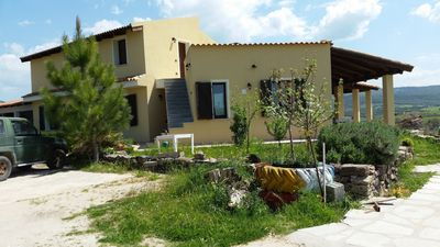"""Photo for Villa """"Immersa nella natura"""" with Mountain Views, Private Terrace, Shared Pool & Garden, Wi-Fi; Parking Available"""