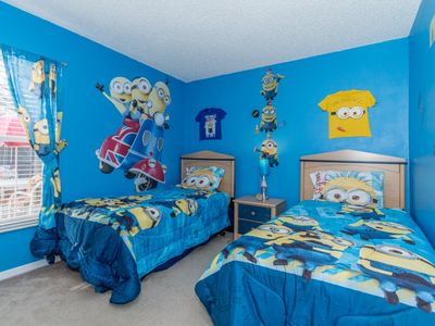 Photo for April 24-May 3 Available! Beautiful Themed Villa -3 Miles to Disney-South Facing Pool