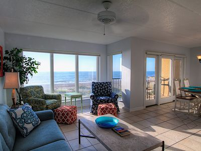 Oceanfront End Unit at Oceans of Amelia