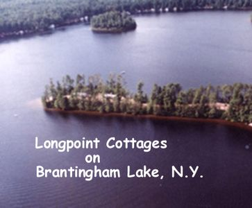"Photo for Long Point Cottages - ""Land's End  ""- Your Private Adirondack Lakefront Get Away"