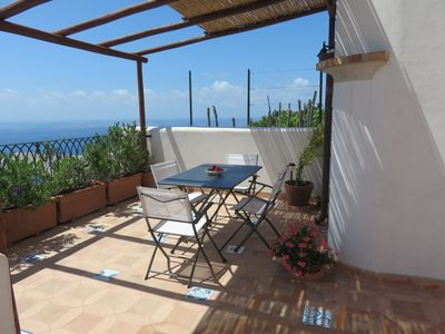 Photo for typical house / villa  in the Amalfi coast - Conca dei Marini
