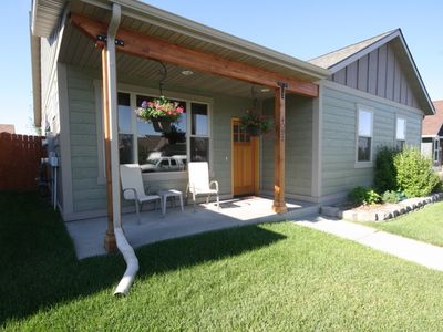 Photo for Comfortable, clean 3 bedroom house! Centrally located in Bozeman!