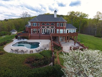 Photo for Luxurious Mountain Top Home with Pool Overlooking Breathtaking Panoramic Views!