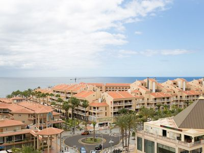 Photo for Charming apartment in Tenerife with sea view on beachfront