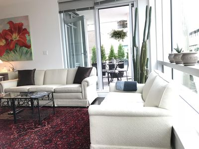 Photo for Bright and airy condo in the heart of downtown Victoria
