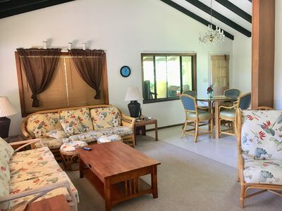 Photo for Up Country spacious open beam 3 bedroom home close to beach, airport, UpCountry