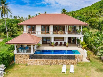 Photo for Seaview Villa with Private Pool & Jacuzzi in Good Location  1km to Bangrak Beach