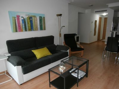 Photo for Suitable Superior New 150m. Patacona beach, pool, Wireless Broadband and Parking