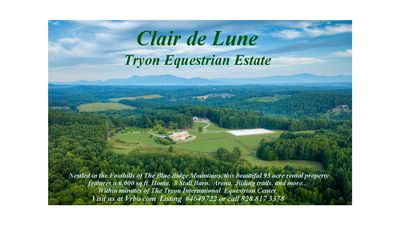 Photo for Clair de Lune Tryon Equestrian Estate:  Fully accommodating, minutes from TIEC,