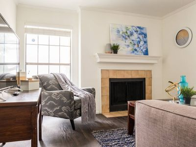 Photo for Comfort + Balcony +Parking   Minutes to Uptown 1BR