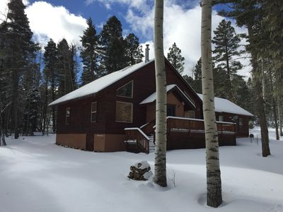 Photo for Alpine comfort near Monte Verde Lake invites you and your pets