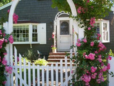 Photo for Lovely Storybook Cape Cod Cottage /Bayside Beach -Perfect for Summer Memories
